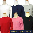 POLO by Ralph Lauren Boy'sベーシック 長袖 T シャツ【2016-Fall/NewColor】【ラルフローレン ボーイズ】#323525052