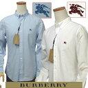 BURBERRYバーバリーMen's長袖オックスフォードシャツ