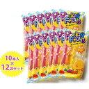【送料無料】 マルゴ ポッキンフルーツ 果汁味 10本入り×12袋セット 果汁20% おやつ アイス ジュース