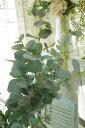 造花 インテリアグリーン 観葉植物 フェイクグリーン【造花 パリスユーカリ 1本(パープルグリーン)】アートフラワー
