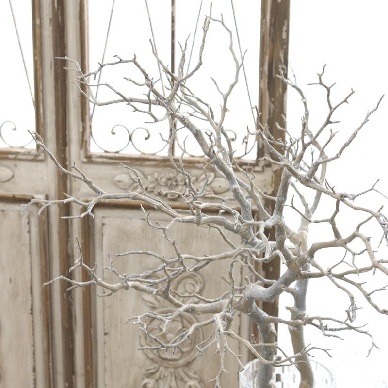 アンティーク風 雑貨 マンザニータ ウェルカムツリー 枝 フェイクグリーン ブランチ 1本/L95cm 造花