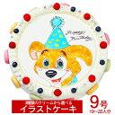 ≪写真ケーキ お祝い≫シェリーブランのキャラクターケーキ9号...