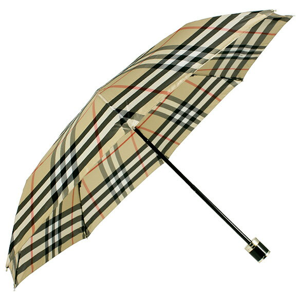 バーバリー TRAFALGAR PK CHK UMBRELLA キャメル