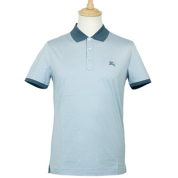 バーバリー BURBERRY メンズ ポロシャツ ライトブルー BURWELL 4023153 ABVNV  45400 LIGHT BLUE