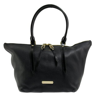 BURBERRY / Burberry ladies Tote Bag Black SM SALISBURY LBT 3887064 00100 BLACK BURBERRY ばーばり.