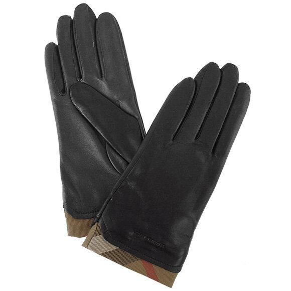 バーバリー BURBERRY レディース グローブ LG JENNY ブラック 3952678 SLHCTT:AAYDT 0010T BLACK