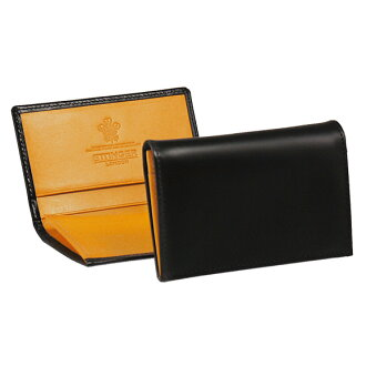 Ettinger BRIDLE CARD CASE 143JR BLACK card case ETTINGER eh! I! エッティンガ-