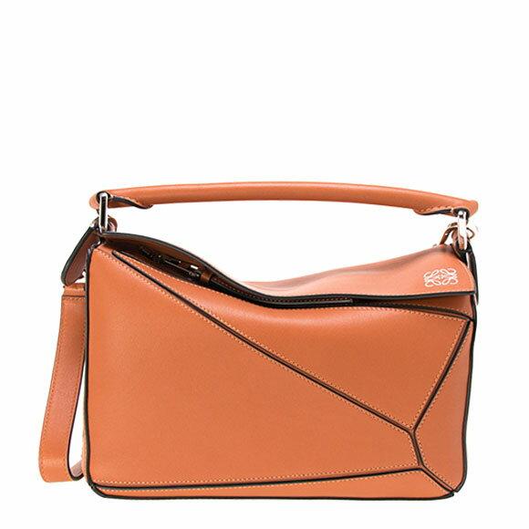 ロエベ LOEWE バッグ レディース 2WAYハンドバッグ PUZZLE SMALL BAG [パズル スモールバッグ] タンブラウン 322 30 S21 2530 TAN