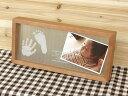 メモリアルスタンド【天使の記憶】<送料無料>手型足型/お名前入りフォトフレーム/出産祝いギフト/赤ちゃんのお誕生の記念品/ママへのプレゼント