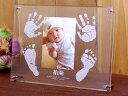 メモリアルスタンド【天使におめでとう】<送料無料>両手型両足型/赤ちゃんの写真 オシャレに飾るアイテム友達同僚出産祝いプレゼント ハーフバースデー【楽ギフ_名入...