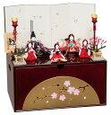 雛人形 平安豊久 木目込み 収納飾り 寿々 (すず) ひな人形 304818