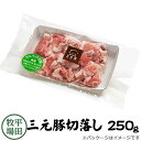 【H自宅】平田牧場 三元豚 【切り落とし 250g】