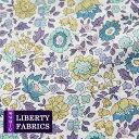 【LIBERTY】リバティファブリック《生地》D'anjo/やわらかなイエローパープルの花柄生地/3632265LDE/「liberty29」(10cm単位)
