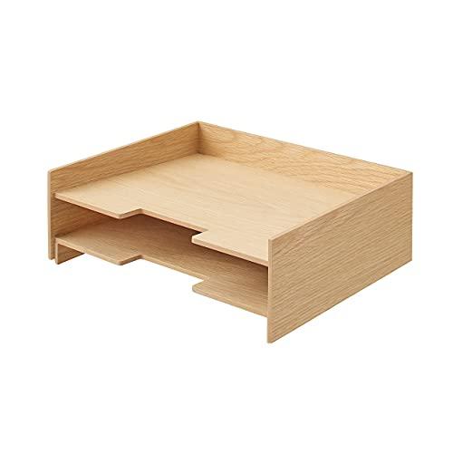 無印良品 木製書類整理トレー A4