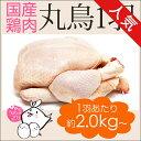 丸鶏 (中抜き 1羽) 紀州うめどり (鶏肉 1羽) 約2.0kg〜2.8kg [生 鳥肉 ローストチキン