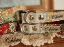 リバティ 1.5cm幅カラ- 首輪 【2】collar 【オーダーメイド商品】【クリックポスト発送可能】
