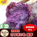 紫芋 送料無料 2kg 有機栽培 鹿児島県産 アントシアニンが豊富 パープルスイートロード ナカムラサキ さつまいも オーガニック