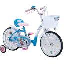 アナと雪の女王 16インチ <完成品>★今なら、自転車カバープレゼント!!【クレジットOK!】アイデス 子供用自転車 ディズニーキ…