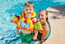 アクアベスト 58673EU【BABY Floats INTEX クレジットOK!】インテックス サンユニオン プール 水遊び 浮き輪 ベビー スイムトレーナーmarron