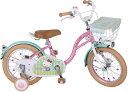M&M(エムアンドエム) ハローキティ F型 16インチ 自転車 141180【クレジットOK!】M&M 子供用自転車