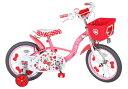 エムアンドエム ハローキティ チェリー 18インチ<完成品>★今なら自転車カバープレゼント!!【包装不可】子供用自転車