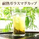 耐熱ガラスマグカップ 1客 /ドルチェ コーヒー グラス /ハロウィン