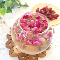 バラ茶 薔薇茶 ローズティー ハーブ ハーブティー ノンカフェイン カフェインレス ばら茶 花 フラワー 1000円ぽっきり プチギフト プチプレゼント 花 お茶