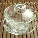 中国茶器 ガラス蓋碗