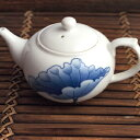 中国茶器 茶壷 茶壺 ちゃふー 青蓮花