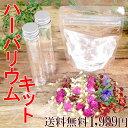 手作りハーバリウムキット スターターキット 植物標本 花ギフト 自分で作る オリジナル ボトル ドラ...