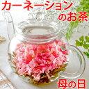 母の日ギフト お花のつぼみとティーポット 誕生日 女性 バースデー お茶 花 あす楽 カーネーション茶 お茶 工芸茶…