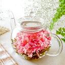 送料無料 お花のつぼみとティーポット 2019 母の日ギフト カーネーション 工芸茶 母の日プレゼント 花 花茶 人気商品…