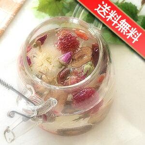 幸せの3色八宝茶とティーポットセット 誕生日 お祝い 内祝い 送料無料 ギフト