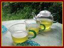 ◎耐熱ガラス茶器セット※各種のお茶を楽しむことがOK!※急須の満水量は250ml可能!