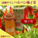 待望の新商品【 ハルバン柚子茶 】登場! 【 済州 ハルバン柚子茶 】570g 瓶タイプ 【02P06Aug16】