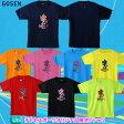ゴーセン 2013年チトセスポーツオリジナル限定Tシャツ 「デビル」(ユニセックス) バドミントン バドミントンTシャツ 【P12Sep6537】