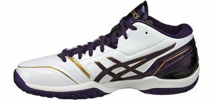 ASIC 籃球鞋格柏 St RS2 Z GELBURST RS2 Z 白色和紫色 TBF315-0133年 52% 籃球籃球鞋 bash ASIC 2014 秋冬模型重要的是 5。