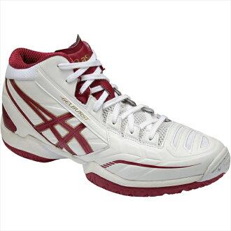 ASIC 格柏 St RS 3 (GELBURSTRS 3) 白 / 紅衣主教紅 TBF319-0122年 50%的折扣! 籃球籃球籃球鞋 ASIC,到 2015 年,春天夏天模型重要的是 5。