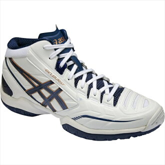 ASIC 格柏 St RS 3 (GELBURSTRS 3) 白 / 午夜藍 TBF319-0149年 50%的折扣! 籃球籃球籃球鞋 ASIC,到 2015 年,春天夏天模型重要的是 5。