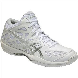 ASIC 圭爾夫 p V 7-苗條 (GELHOOPV 7 苗條) 白色 x 銀 TBF322 0193 25%的折扣! 籃球籃球 bash 鞋 ASIC,到 2015 年,春天夏天模型。