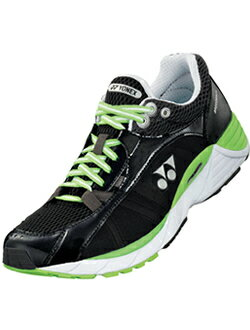【在庫品】ヨネックス ランニングシューズ パワークッションブリーズランメン ブラック×ライムグリーン SHRBZ1M ジョギング【アウトレット】