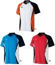 【在庫品】ミズノ ゲームシャツ72MA5005 バドミントン テニス シャツ 半袖 メンズ ユニセックス 男女兼用 MIZUNO 2015年春夏モデル ゆうパケット対応