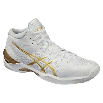 專用積體電路 GELBURST 20 gelburst 20 白色和金色 tb329 0194 籃球鞋 bash 籃子籃球隊 ASIC 在 2016 年,春夏季