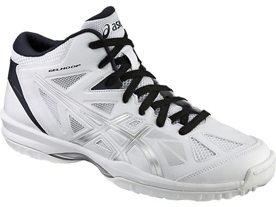 アシックス GELHOOP V 8-wide ゲルフープ V8 ワイド ホワイト×ダークサファイア tbf331-0158バスケットボールシューズ バッシュ asics2016年秋冬モデル NEWカラー