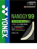 【在庫品】 【2012年モデル】【ヨネックス】【バドミントン ガット】 ナノジー99 NBG99 ラッキーシール対応
