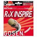 最大5%OFFクーポン付 ゴーセン R4X インスパイア BS180 バドミントン ガット ストリング GOSEN