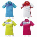 ゴーセン レディースゲームシャツ T1611バドミントン テニス シャツ 半袖 レディース ウィメンズ GOSEN2016年秋冬モデル