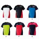 【在庫品】ミズノ Tシャツ 32JA6022 バドミントン テニス シャツ 半袖 メンズ ユニセックス 男女兼用 MIZUNO2016年春夏モデル