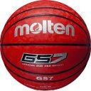 モルテン GS7BGS7-RRレッド×レッド バスケットボール 7号球 人工皮革 molten
