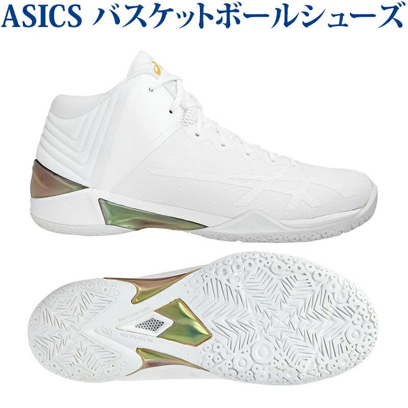 【在庫品】 アシックス GELBURST 22 TBF342-0101 SGLGメンズ 2018SS バスケットボール